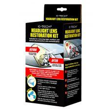 E-TECH Headlight Restoration Kit Pack Shot