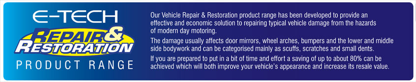 E-TECH Repair and Restoration product banner